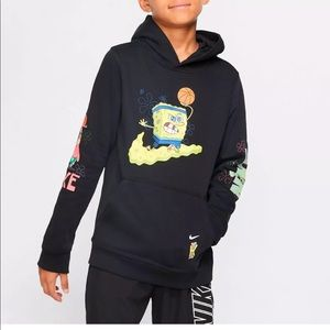 Authentic Nike Kyrie Spongebob Hoodie Sweater boys